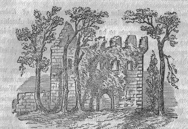 Kerelaw Castle, circa 1866