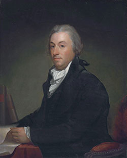 Robert R. Livingston, attributed to Gilbert Stuart.