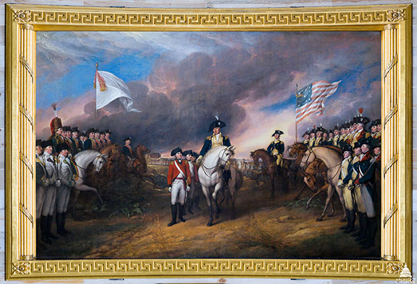 Trumbull, Surrender of Cornwallis.