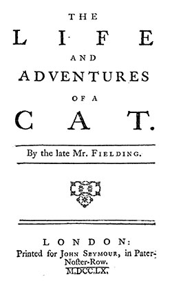 The Life and Adventures of a Cat