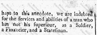 """Anecdote of General Hamilton"" Part 2"