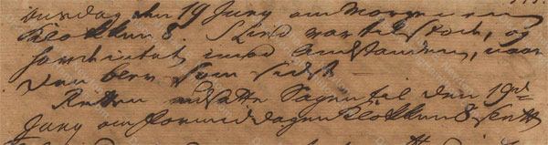 John Davis v. James Hamilton, June 17, 1765, 2