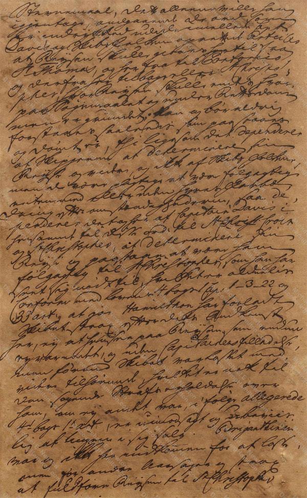 John Davis v. James Hamilton, June 19, 1765, 2