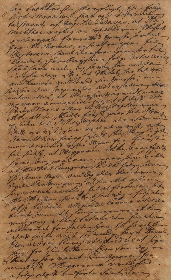 John Davis v. James Hamilton, June 19, 1765, 4