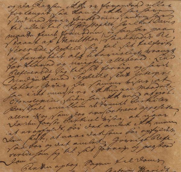 John Davis v. James Hamilton, June 19, 1765, 6