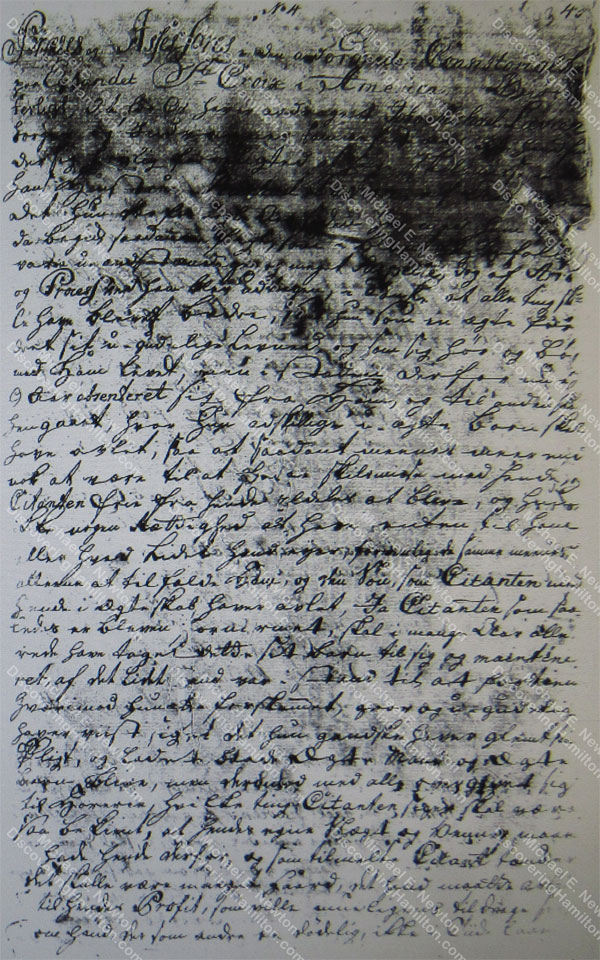 John Michael Lavien divorce filing, February 26, 1759