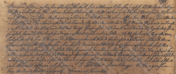 William Hendrie of St. Croix, probate record