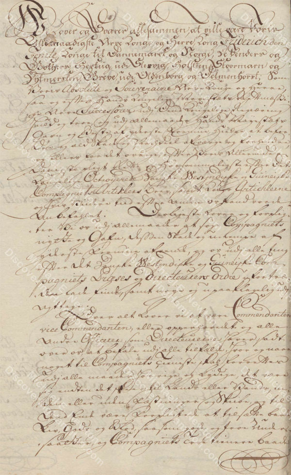 St. Croix Oaths of Allegiance, 1746