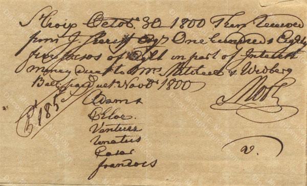 Anne Lytton Venton Mitchell, October 30, 1800