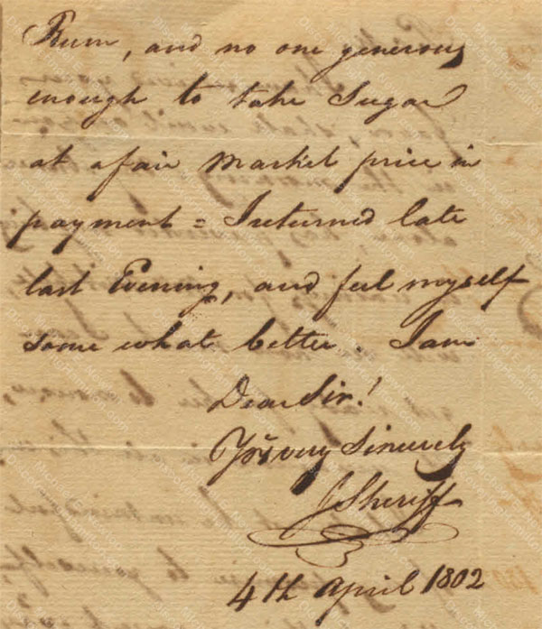 Anne Lytton Venton Mitchell, April 4, 1802