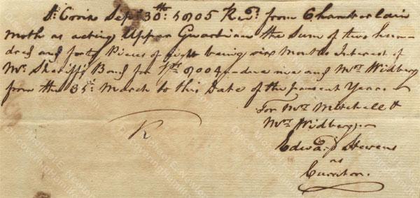 Anne Lytton Venton Mitchell, September 30, 1805