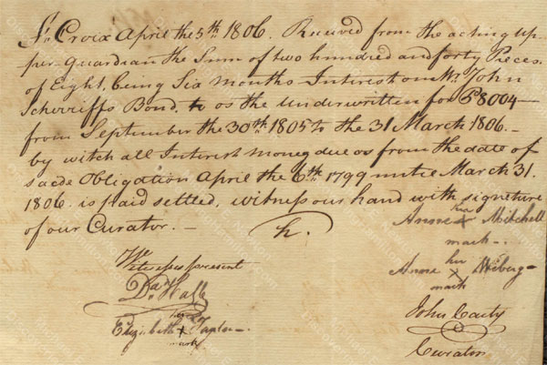 Anne Lytton Venton Mitchell, April 5, 1806