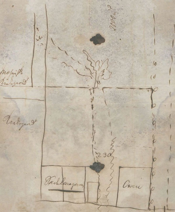 A map from St. Croix